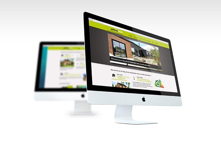 creation site internet entreprise bâtiment brest