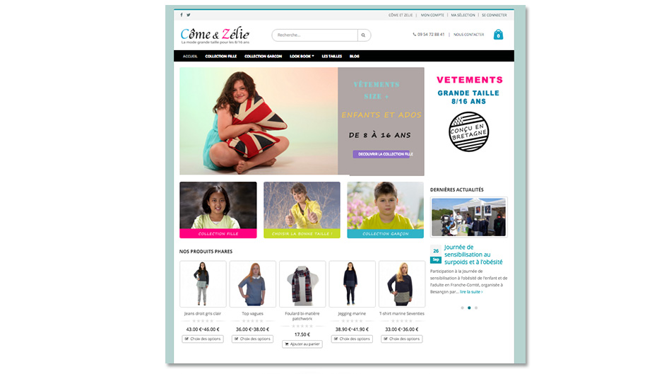 creation site internet e-commerce quimper
