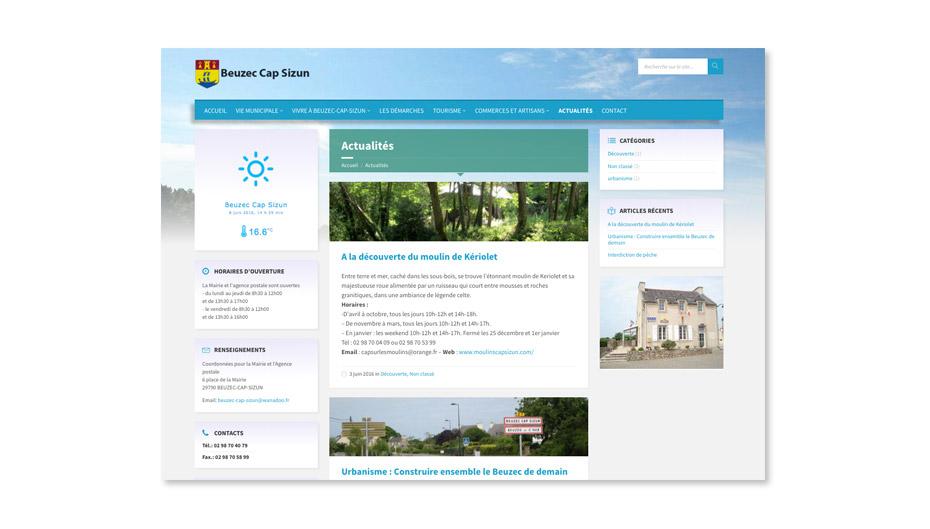 creation site internet mairie