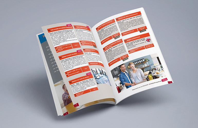 création catalogue, brochure quimper