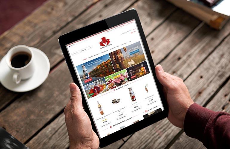 creation site e-commerce multilingue brest