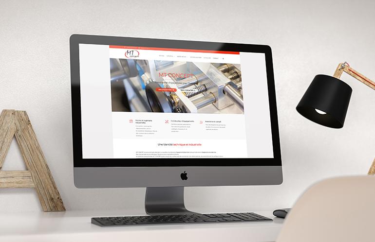 création site internet nantes industrie