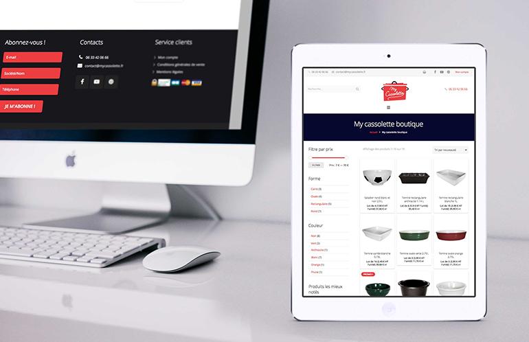 agence web site e-commerce brest