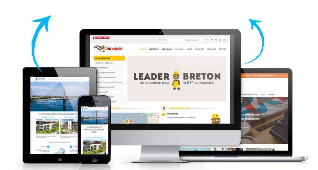 Creation Site Web Agence Brest Quimper