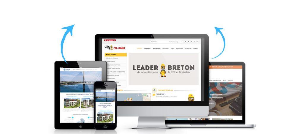creation site internet brest