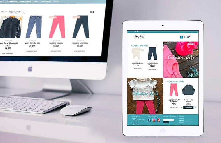 création site e-commerce brest