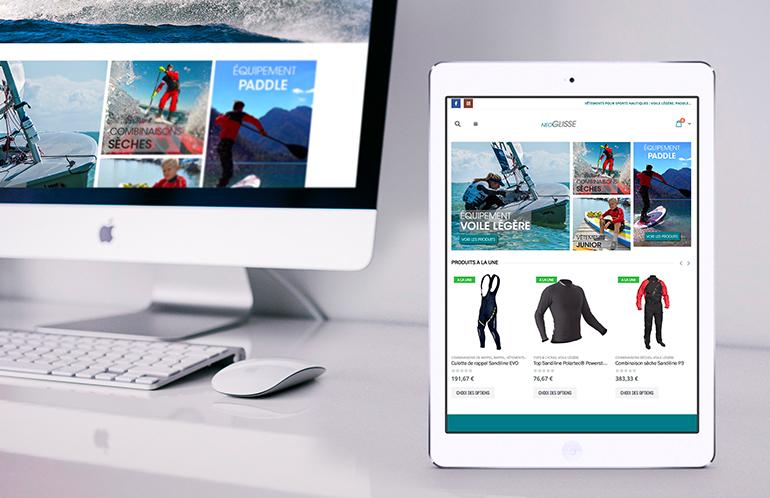 création site e-commerce brest nantes