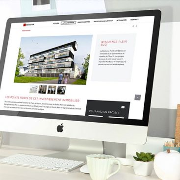 creation site internet immobilier brest nantes
