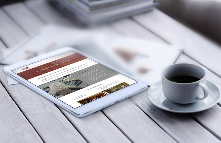 creation site web artisan brest