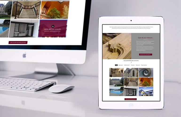 creation site web artisan brest
