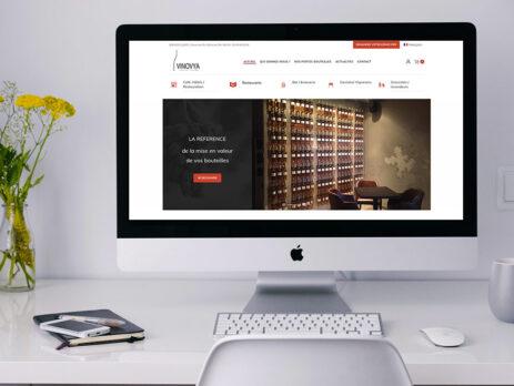 création site internet brest boutique porte bouteille
