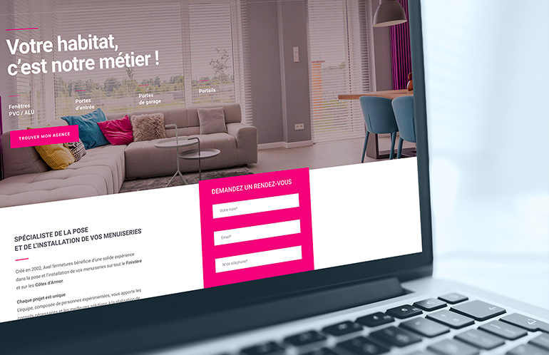creation site web brest BTP