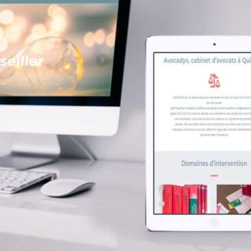 création site internet brest cabinet d'avocats à Quimper