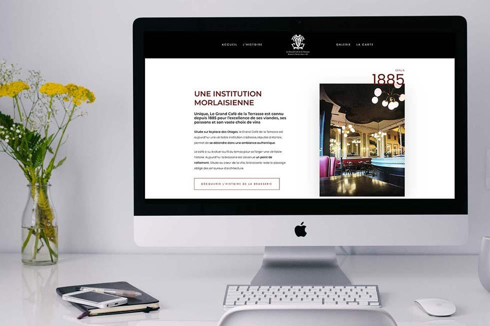 creation site internet restaurant brest morlaix
